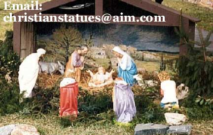 Large nativity sets outdoor nativity sets clearance shop this category